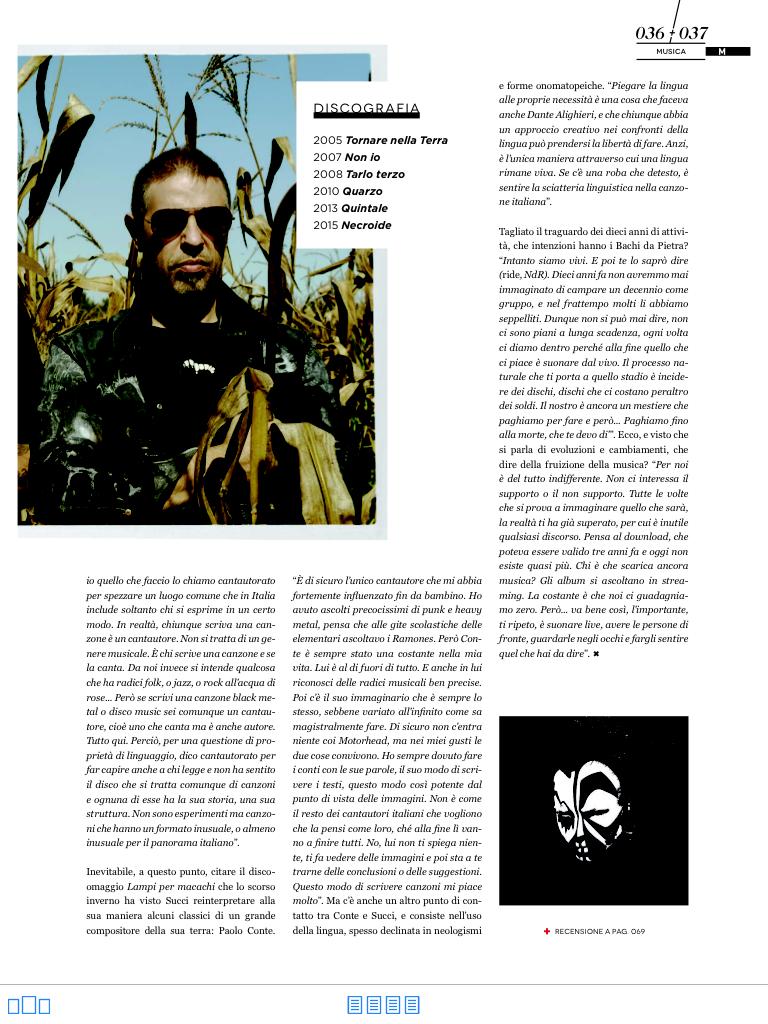 Bachi Da Pietra intervista a Giovanni Succi. MUCCHIO, SETTEMBRE 2015